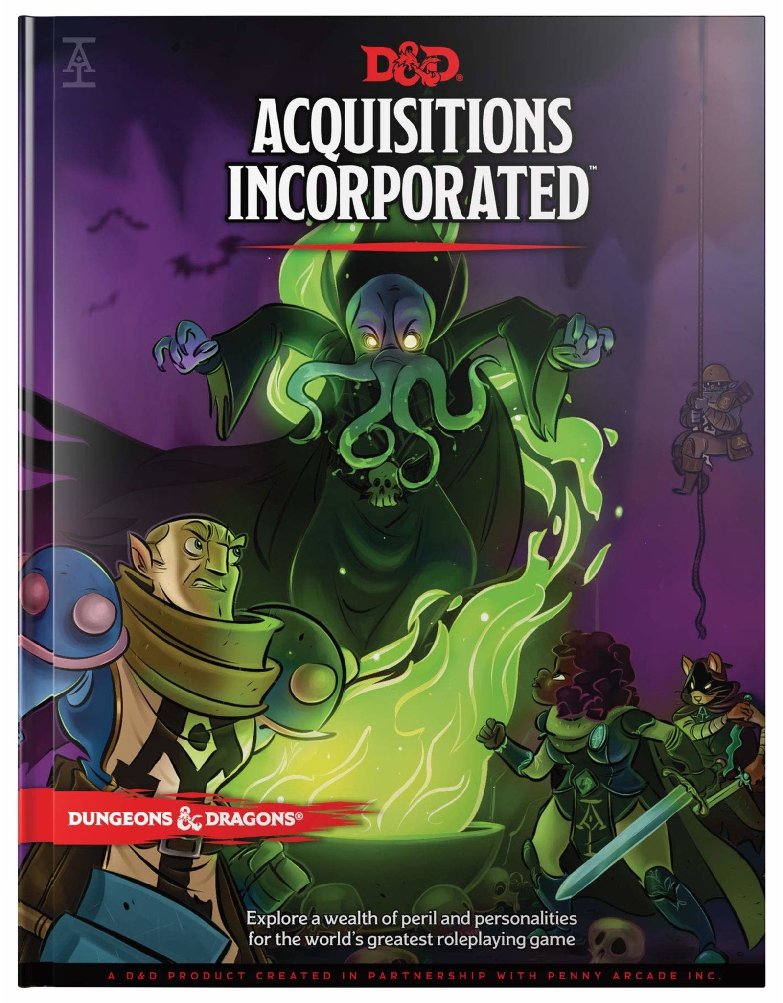 WIZARDS OF THE COAST D&D RPG 5E RPG ACQUISITIONS INCORPORATED