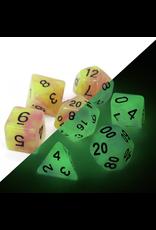 DIE HARD DICE DIE HARD DICE GLOW IN THE DARK RPG SET - ASTRAL FIRE