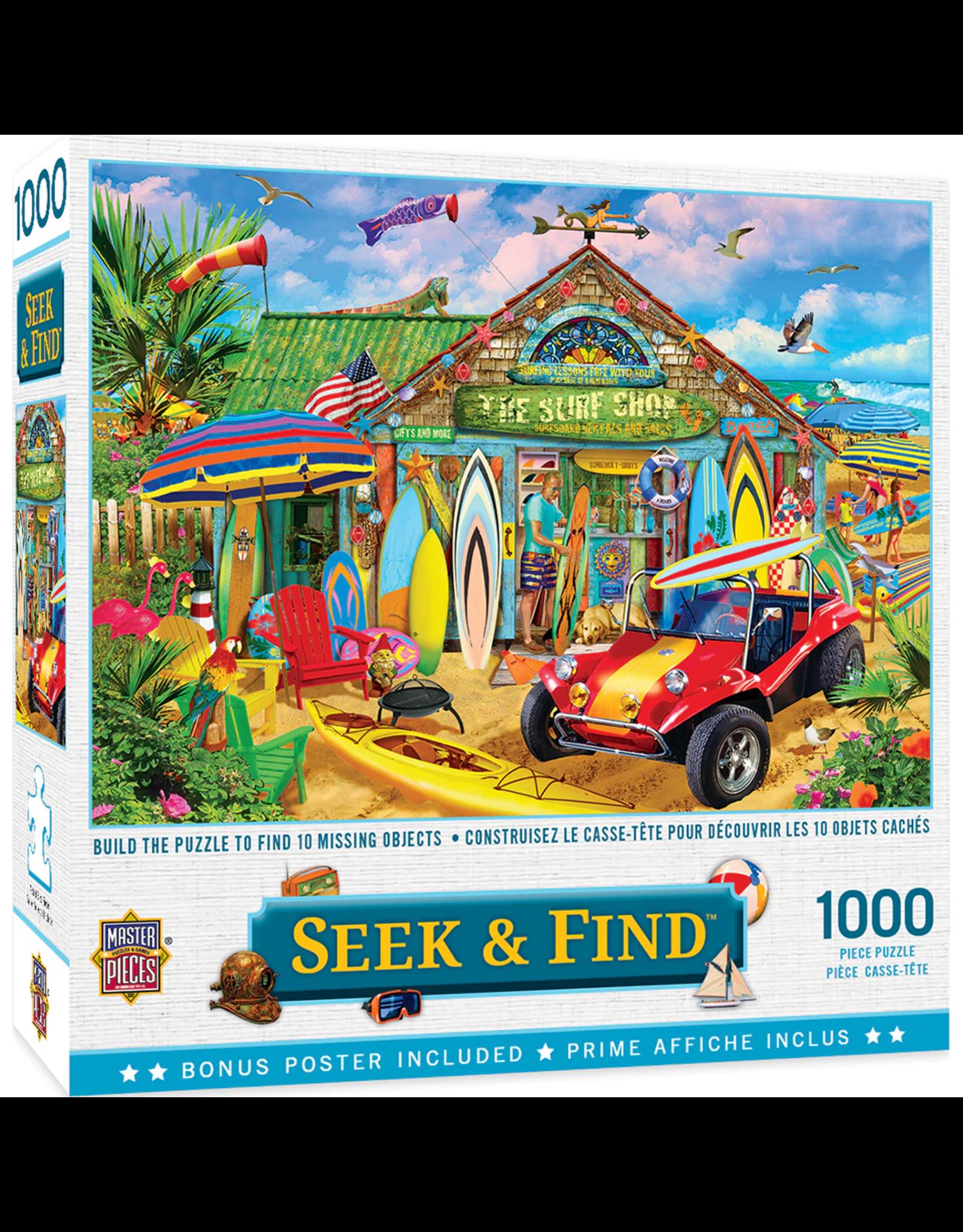 SEEK & FIND BEACH TIME FUN 1000 PIECE PUZZLE