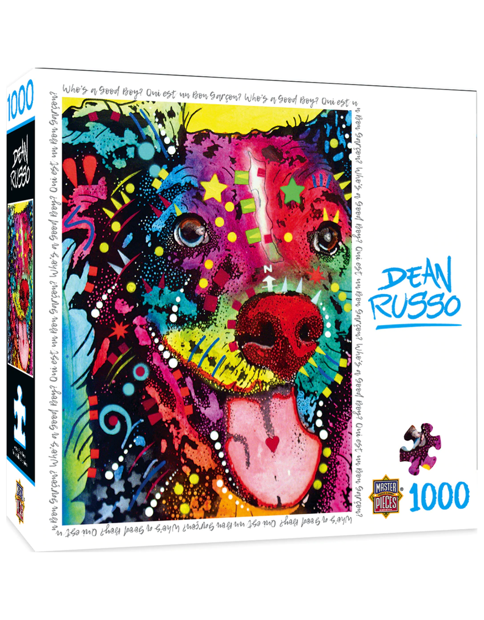 DEAN RUSSO WHO'S A GOOD BOY 1000 PIECE PUZZLE