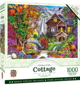 HIDDEN FALLS COTTAGE 1000 PIECE PUZZLE