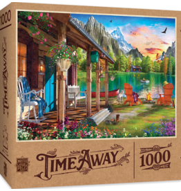 EVENING ON THE LAKE 1000 PIECE PUZZLE