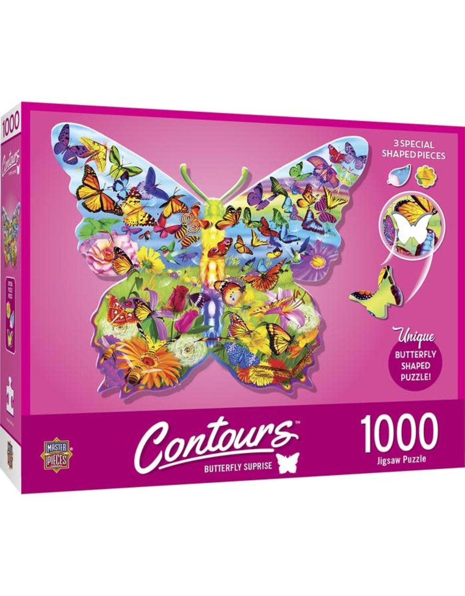 BUTTERFLY SURPRISE 1000 PIECE PUZZLE