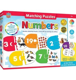 NUMBERS MATCHING 40 PIECE PUZZLE