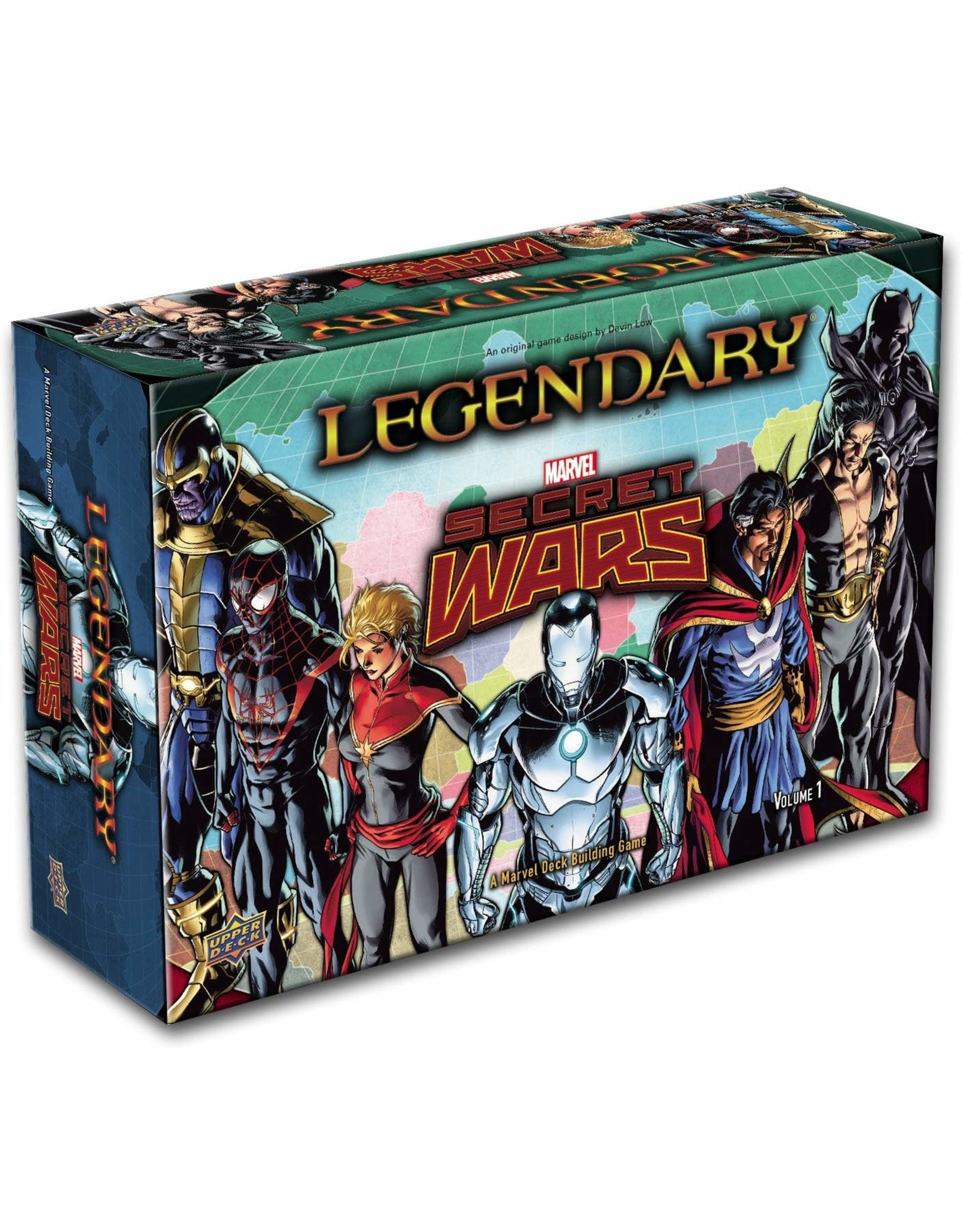 UPPER DECK MARVEL LEGENDARY DBG SECRET WARS VOLUME 1