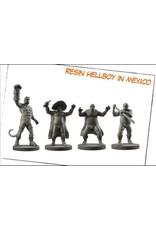 HELLBOY RESIN HELLBOY IN MEXICO AGENTS