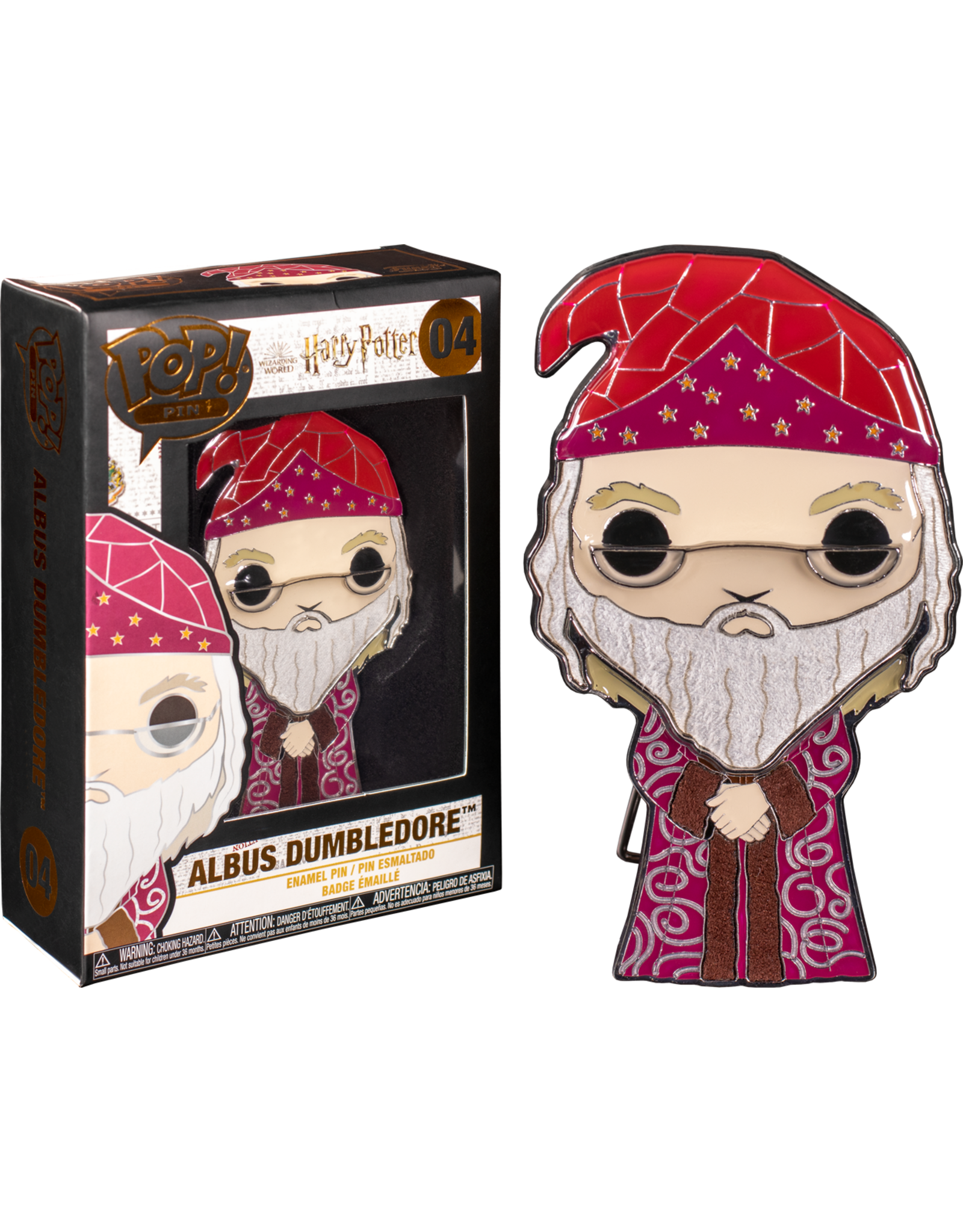 FUNKO FUNKO HARRY POTTER DUMBLEDORE ENAMEL PIN
