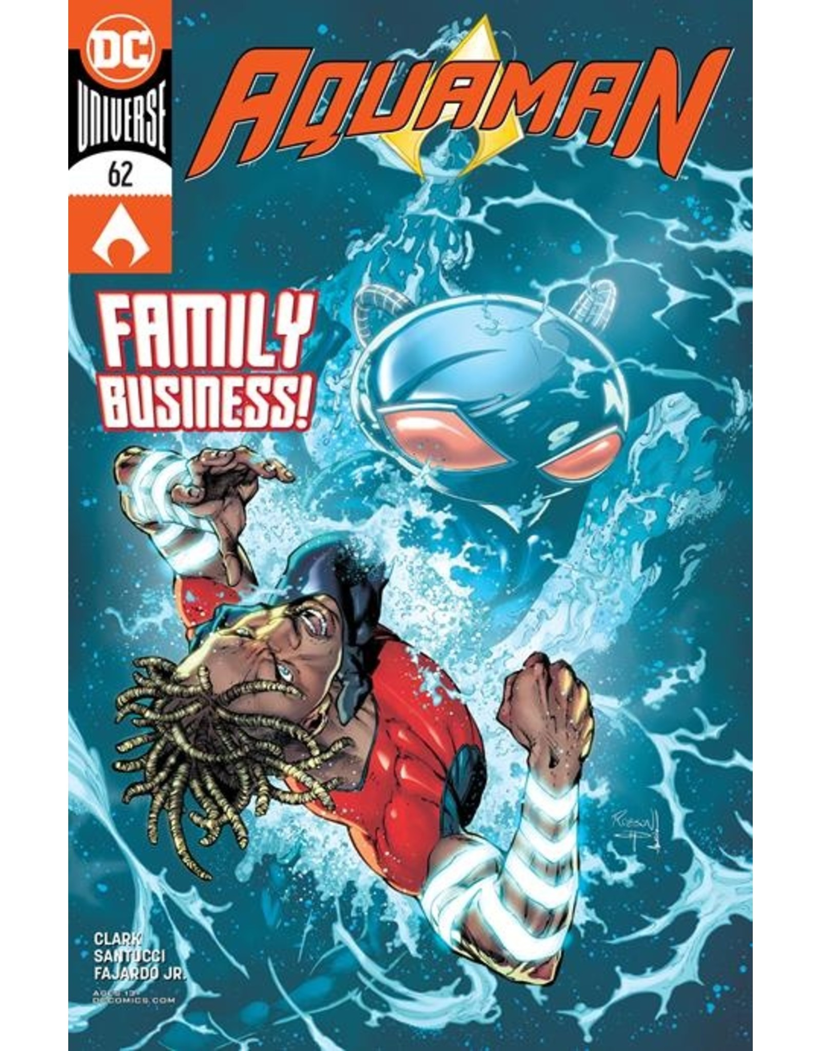 DC COMICS AQUAMAN #62