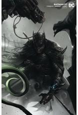 DC COMICS BATMAN #97 CARD STOCK F MATTINA VAR ED JOKER WAR