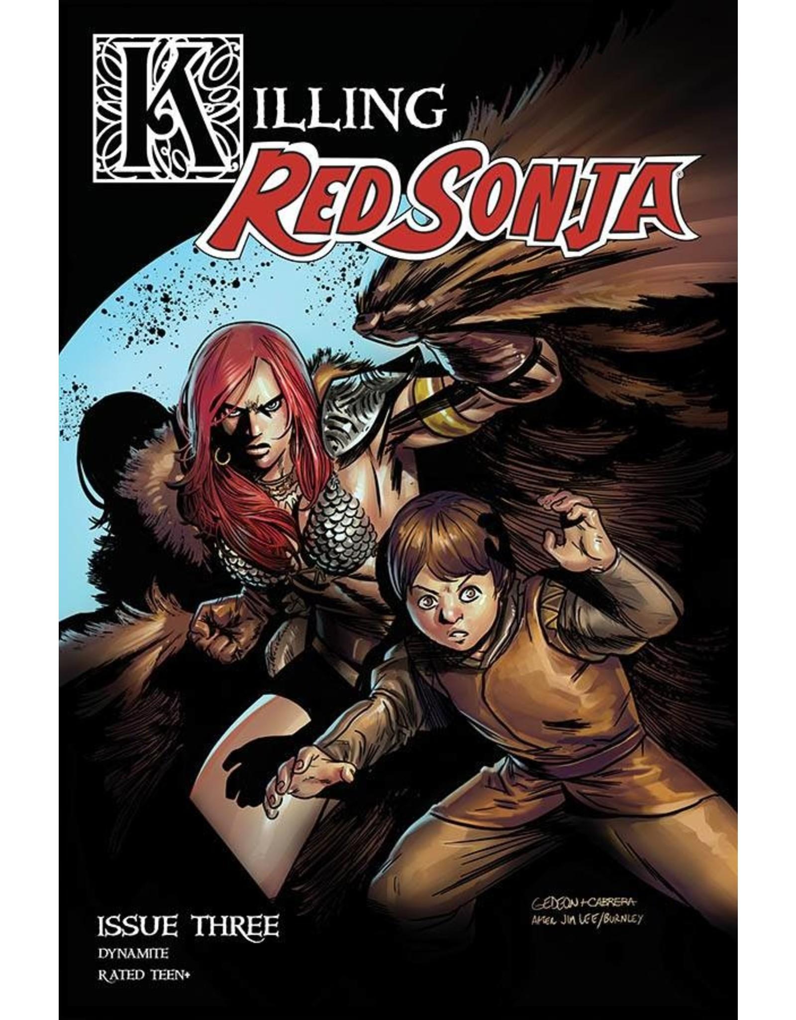 KILLING RED SONJA #3 CVR B GEDEON HOMAGE