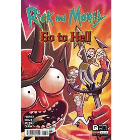 ONI PRESS INC. RICK AND MORTY GO TO HELL #3 CVR B OROZA