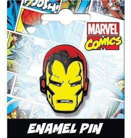 IRON MAN HEAD ENAMEL PIN