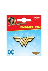 DC WONDER WOMAN LOGO ENAMEL PIN