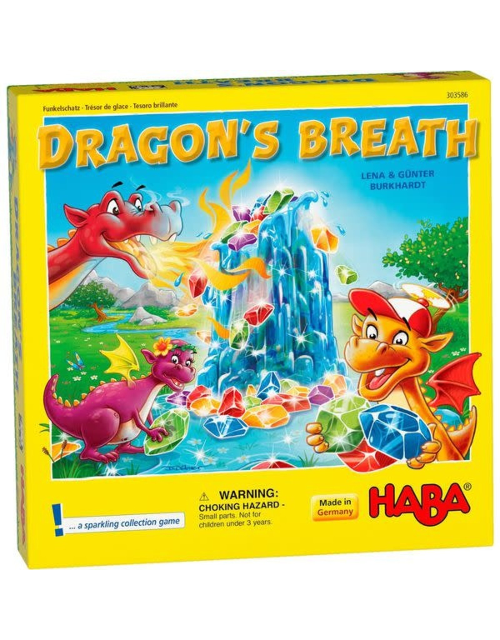 HABA GAMES DRAGON'S BREATH