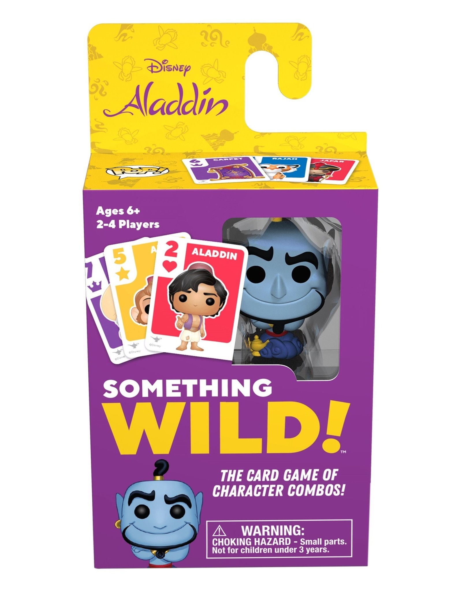 FUNKO SOMETHING WILD! CARD GAME ALADDIN