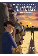 IDW - TOP SHELF THEY CALLED US ENEMY EXPANDED ED HC