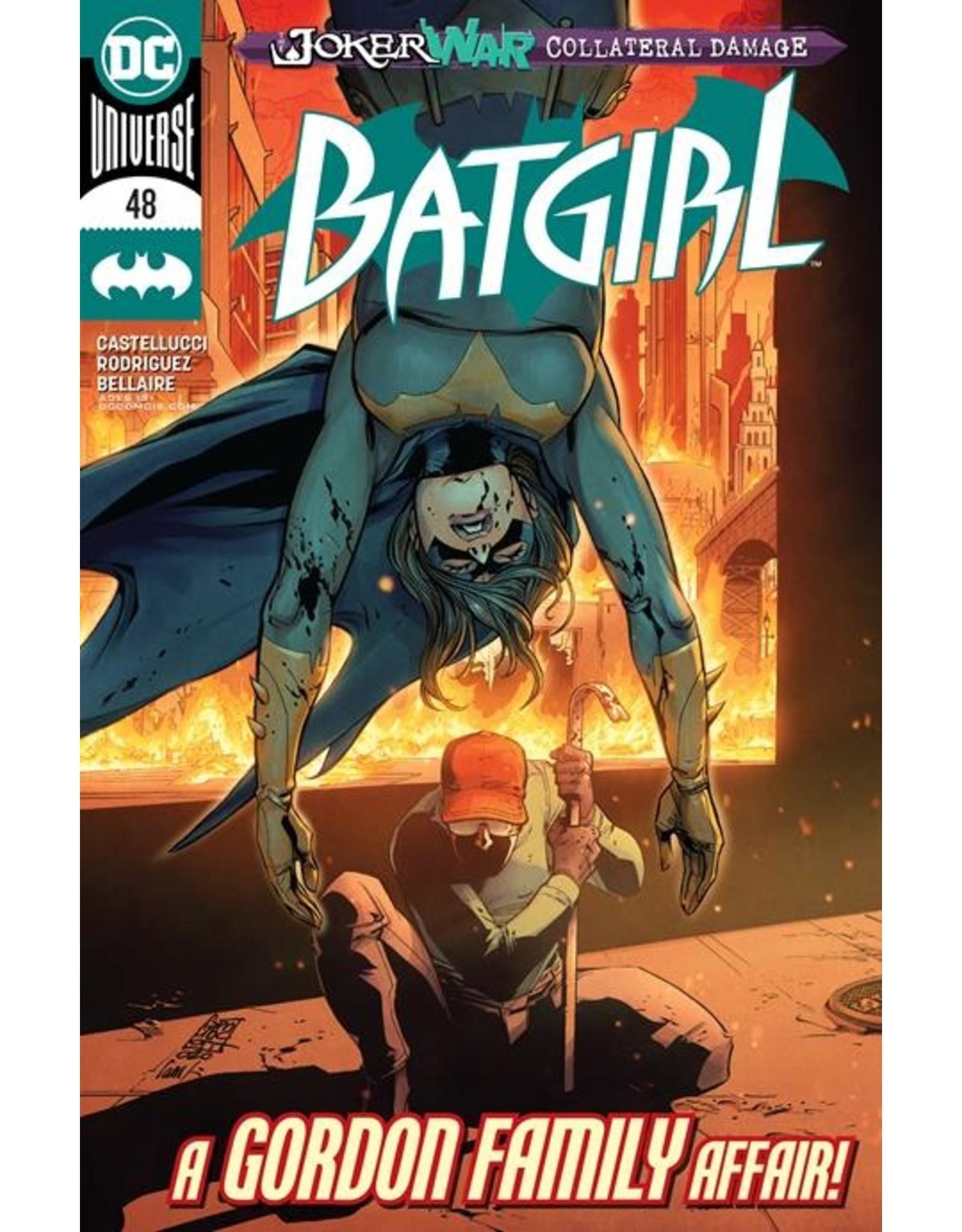 DC COMICS BATGIRL #48 JOKER WAR