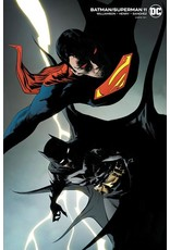 DC COMICS BATMAN SUPERMAN #11 CARD STOCK JAE LEE VAR ED