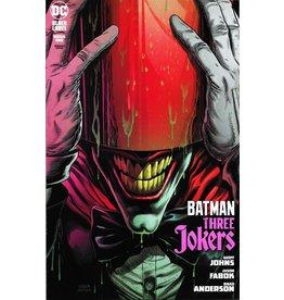 DC COMICS BATMAN THREE JOKERS #1 (OF 3) PREMIUM VAR A RED HOOD