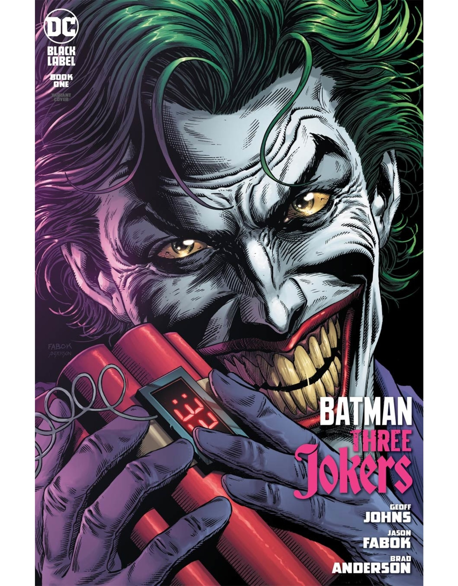 DC COMICS BATMAN THREE JOKERS #1 (OF 3) PREMIUM VAR C
