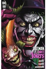 DC COMICS BATMAN THREE JOKERS #1 (OF 3) PREMIUM VAR B JOKER FISH