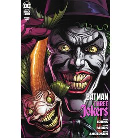 DC COMICS BATMAN THREE JOKERS #1 (OF 3) PREMIUM VAR B JOKER FISH