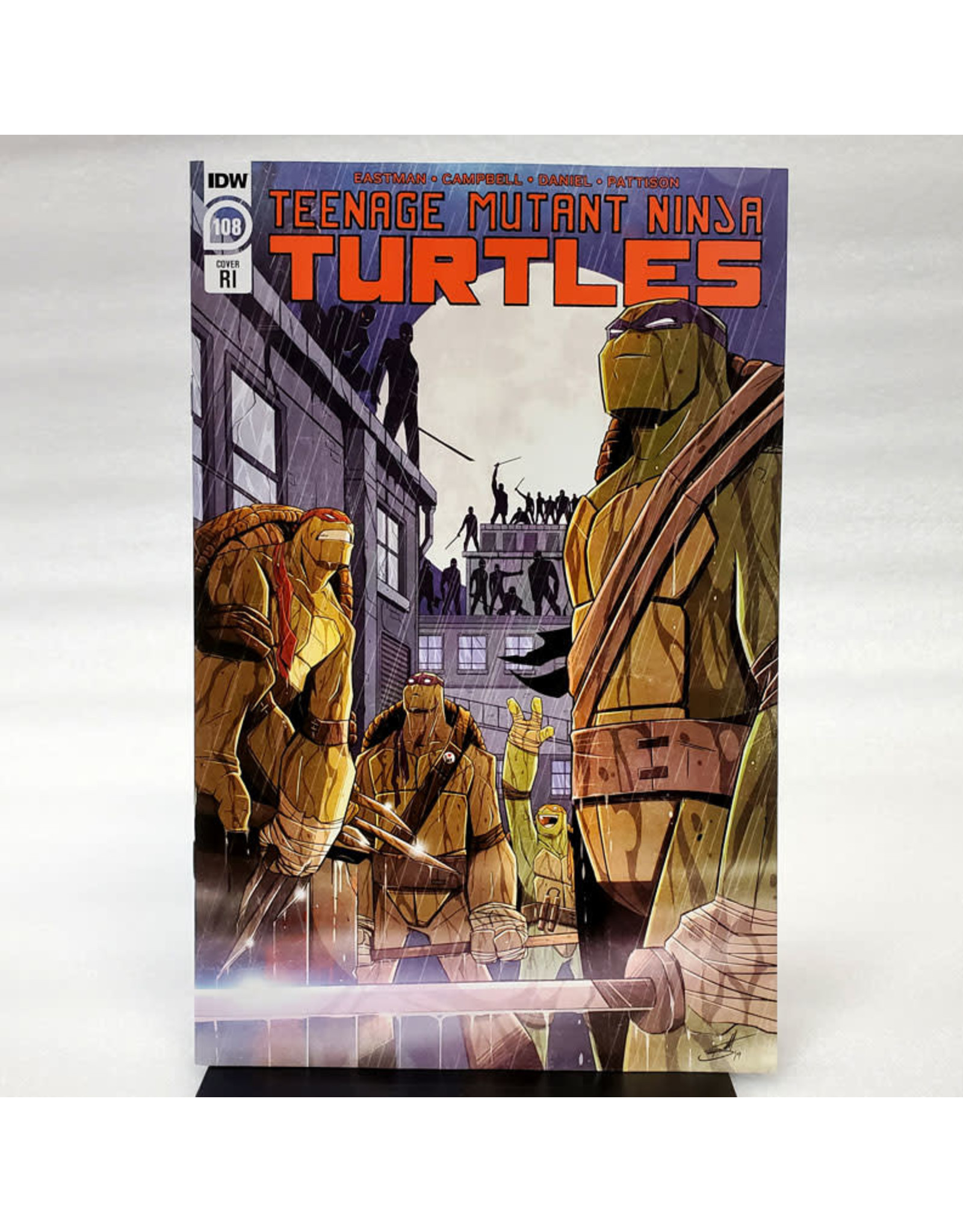IDW PUBLISHING TMNT ONGOING #108 10 COPY INCENTIVE BROOKS