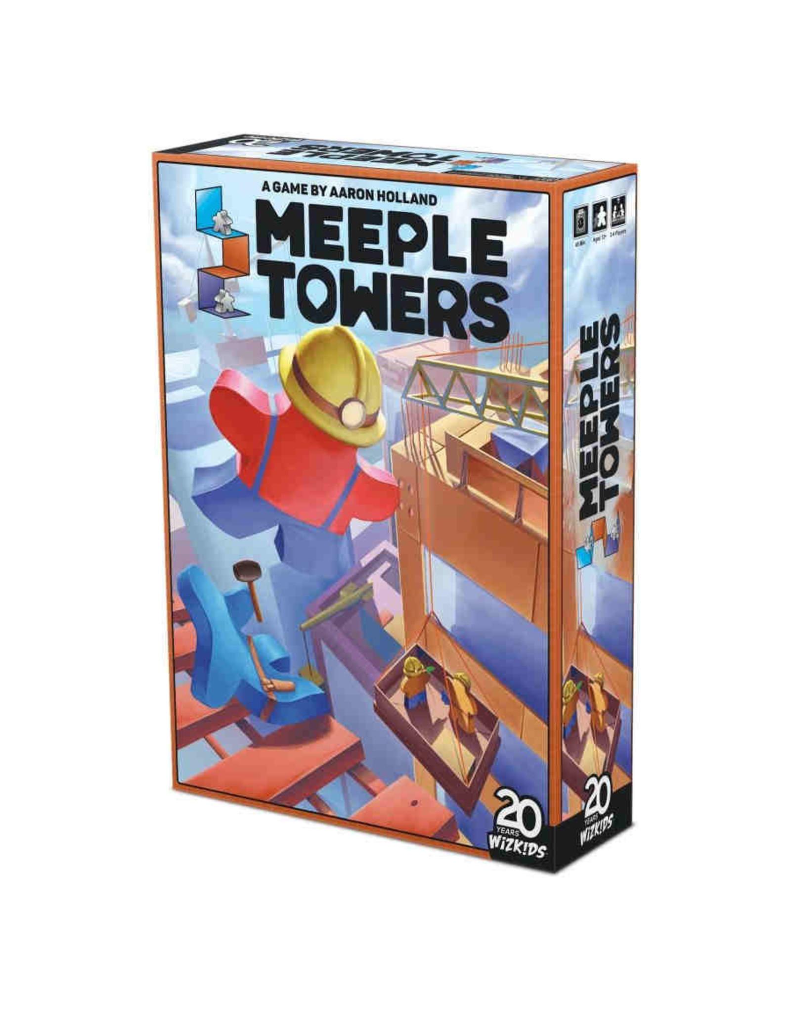 WIZKIDS MEEPLE TOWERS BOARD GAME