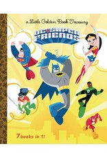 GOLDEN BOOKS DC SUPER FRIENDS LITTLE GOLDEN BOOK TREASURY