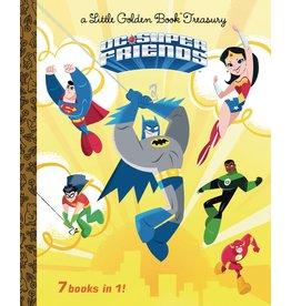 GOLDEN BOOKS DC SUPER FRIENDS LITTLE GOLDEN BOOK TREASURY