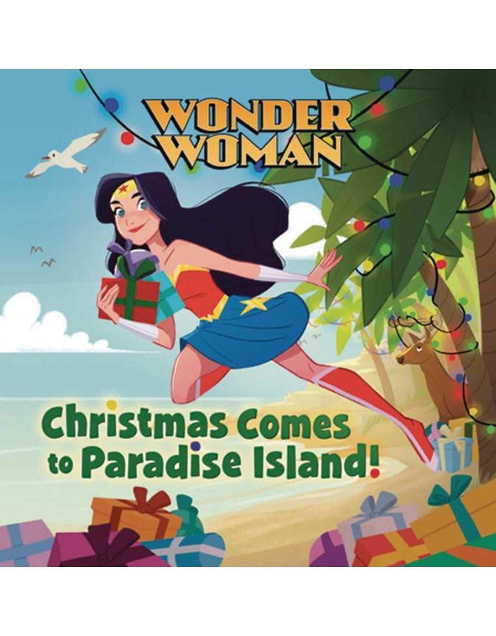 WONDER WOMAN CHRISTMAS COMES TO PARADISE ISLAND HC