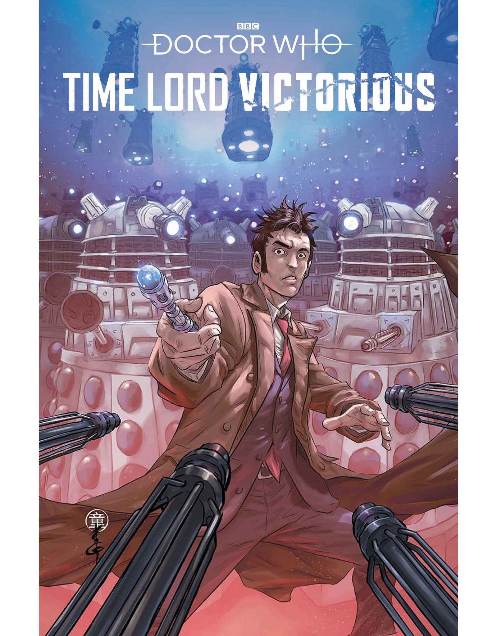 TITAN COMICS DOCTOR WHO TIME LORD VICTORIOUS #1 CVR C TONG