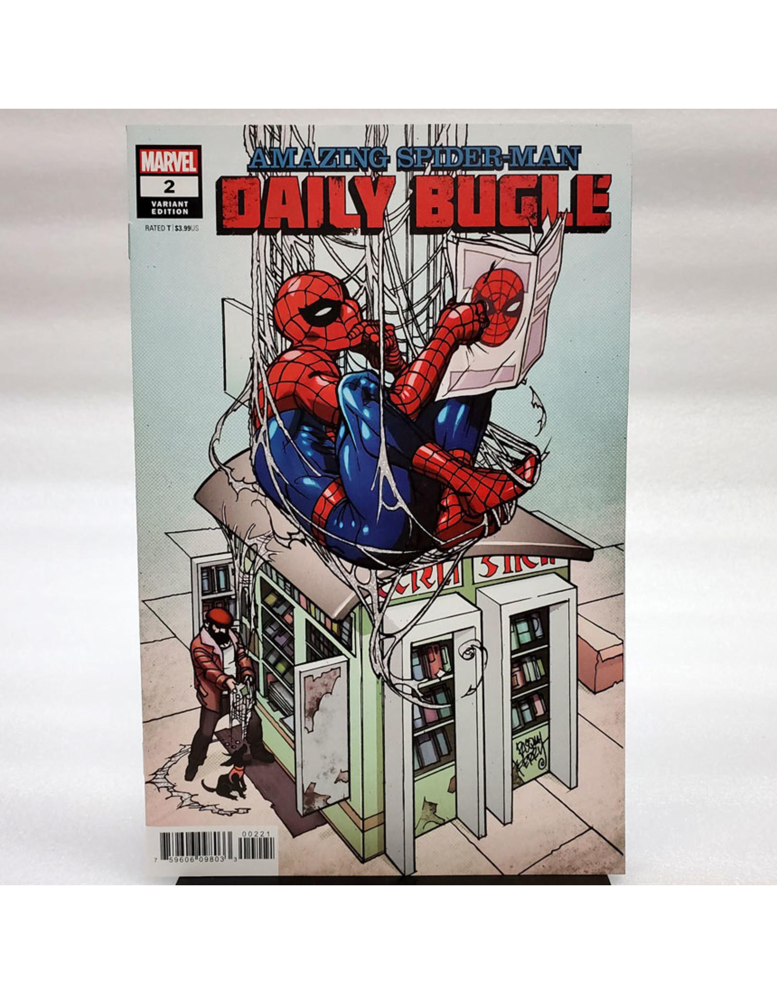 MARVEL COMICS AMAZING SPIDER-MAN DAILY BUGLE #2 (OF 5) 1:25 FERRY VAR