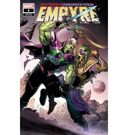 MARVEL COMICS EMPYRE #6 (OF 6) DANIEL SKRULL KREE VAR