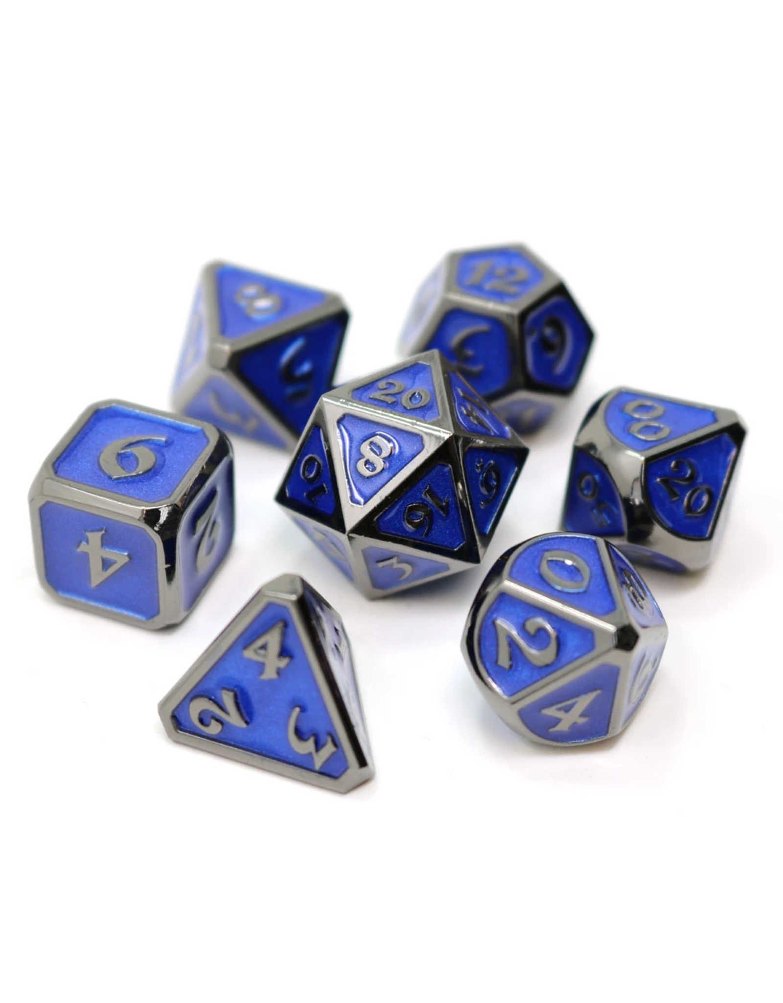 DIE HARD DICE DIE HARD DICE 7CT SET MYTHICA SINISTER SAPPHIRE