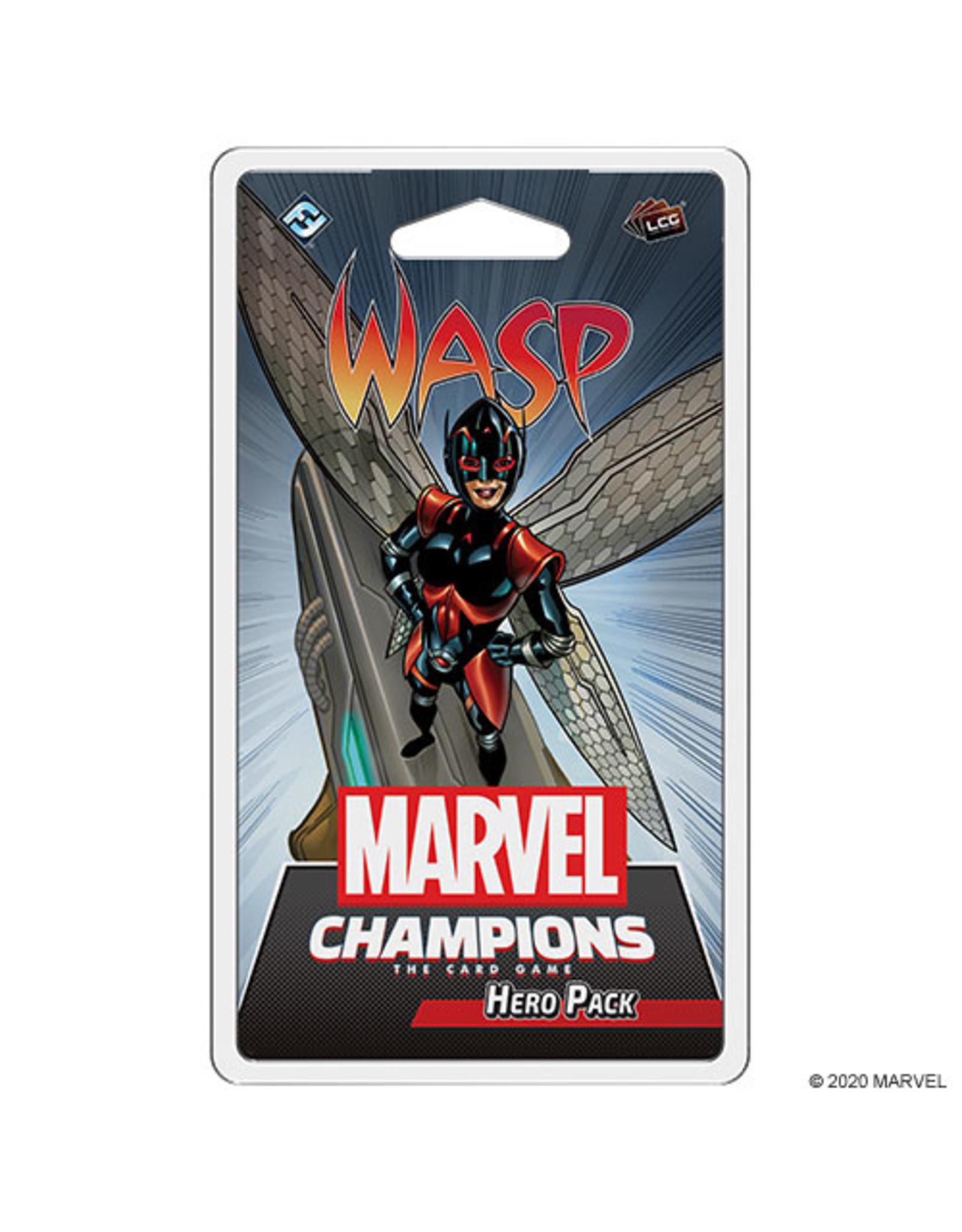 FANTASY FLIGHT GAMES MARVEL CHAMPIONS LCG: THE WASP HERO PACK PRE-ORDER