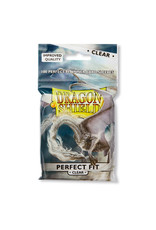 DRAGON SHIELD PERFECT FIT 100 CT CARD SLEEVES CLEAR