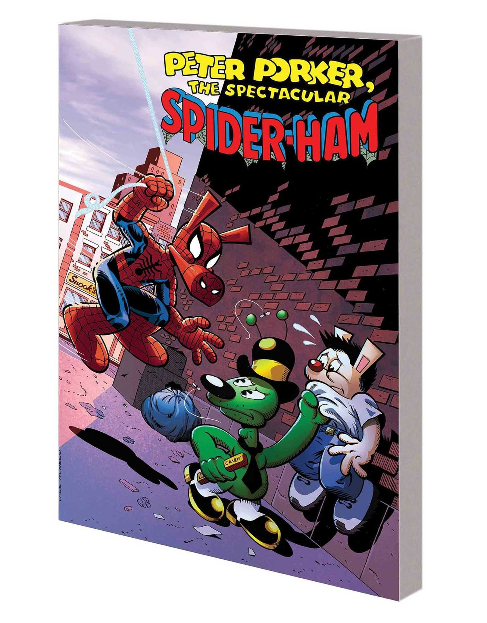 MARVEL COMICS PETER PORKER SPECTACULAR SPIDER-HAM COMPLETE COLLECT TP VOL