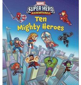 STUDIO FUN MARVEL SUPER HERO ADVENTURES TEN MIGHTY HEROES BOARD BOOK