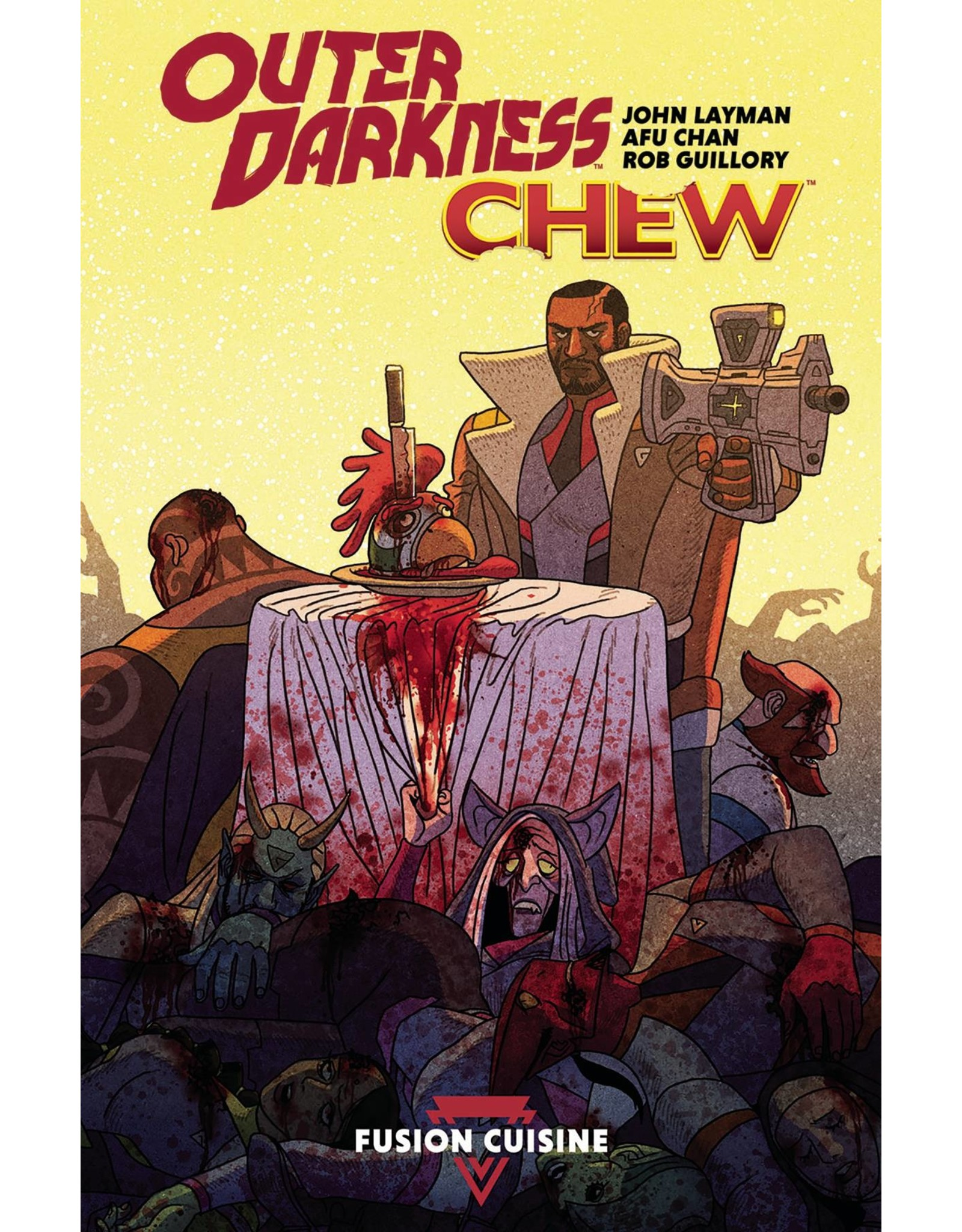 IMAGE COMICS OUTER DARKNESS CHEW TP