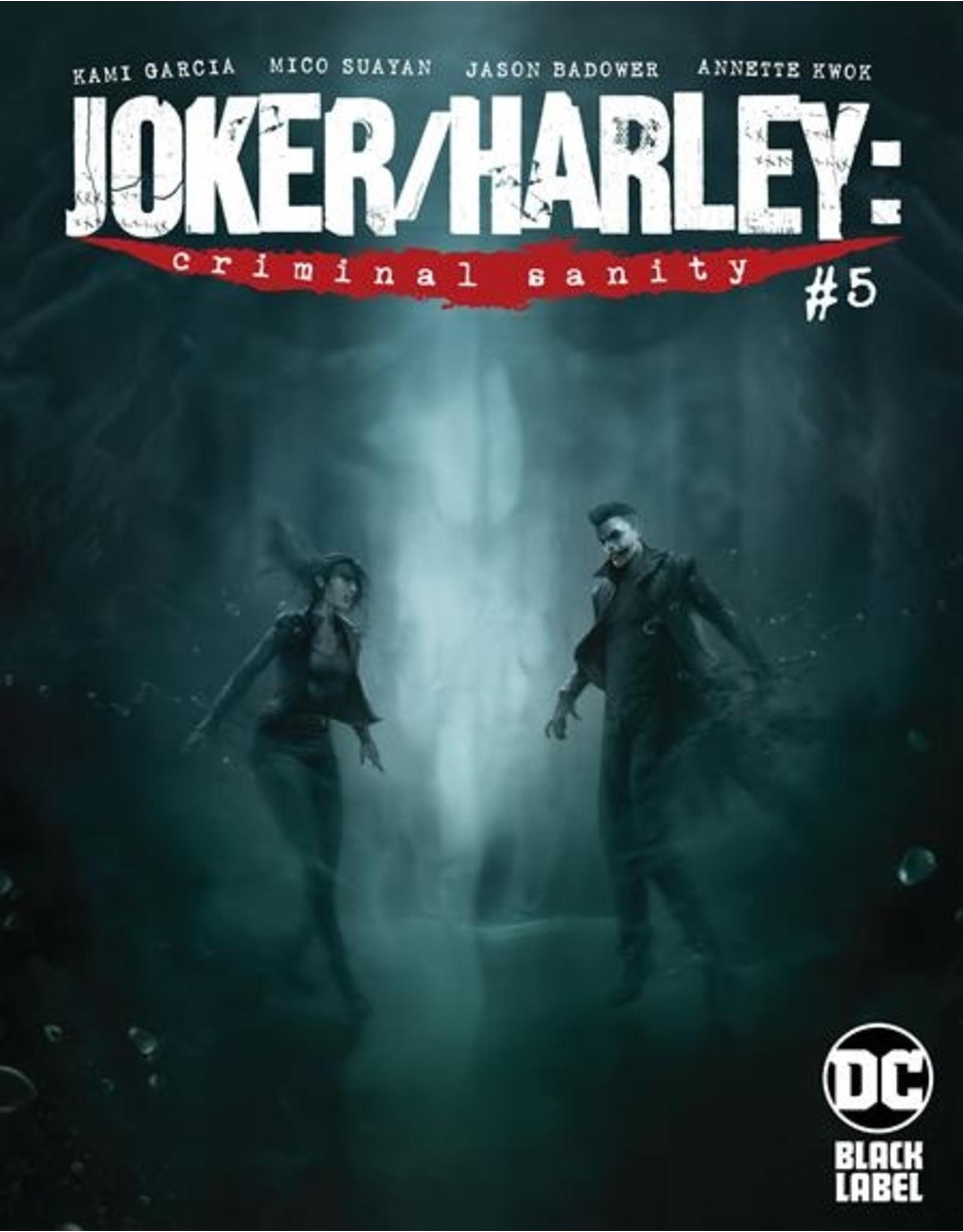 DC COMICS JOKER HARLEY CRIMINAL SANITY #5 (OF 9) CVR A FRANCESCO MATTINA