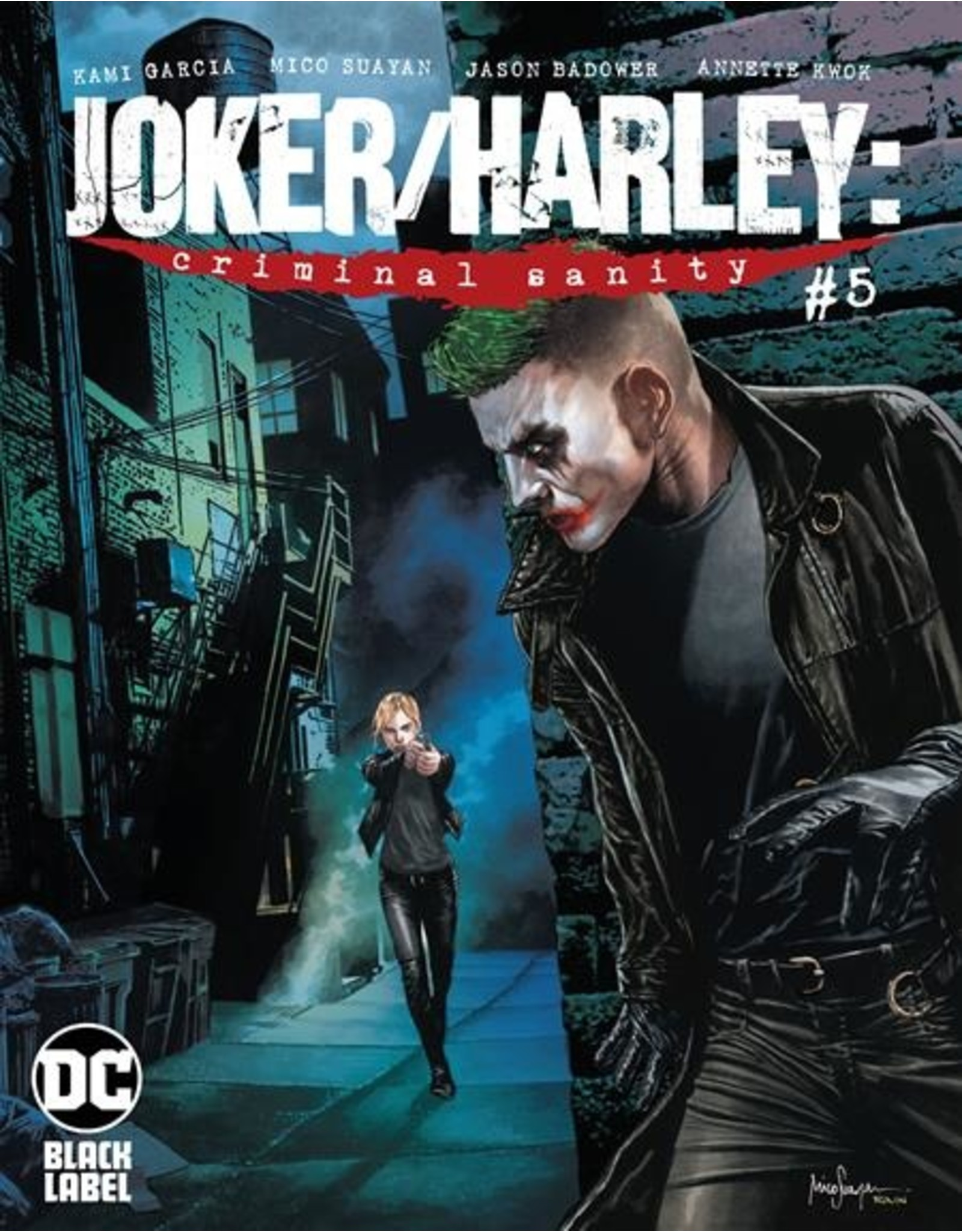 DC COMICS JOKER HARLEY CRIMINAL SANITY #5 (OF 9) CVR B MICO SUAYAN VAR