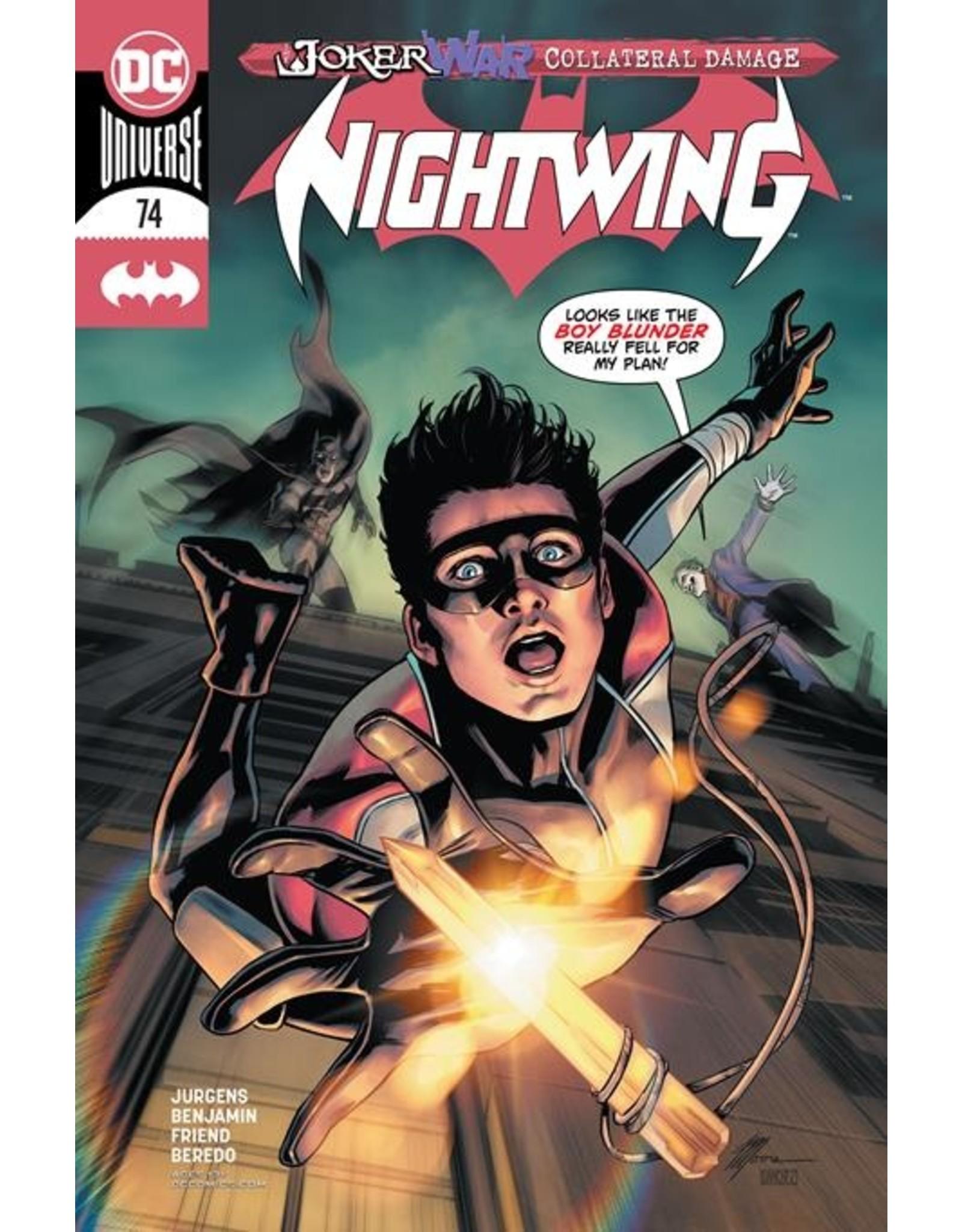 DC COMICS NIGHTWING #74 CVR A TRAVIS MOORE (JOKER WAR)