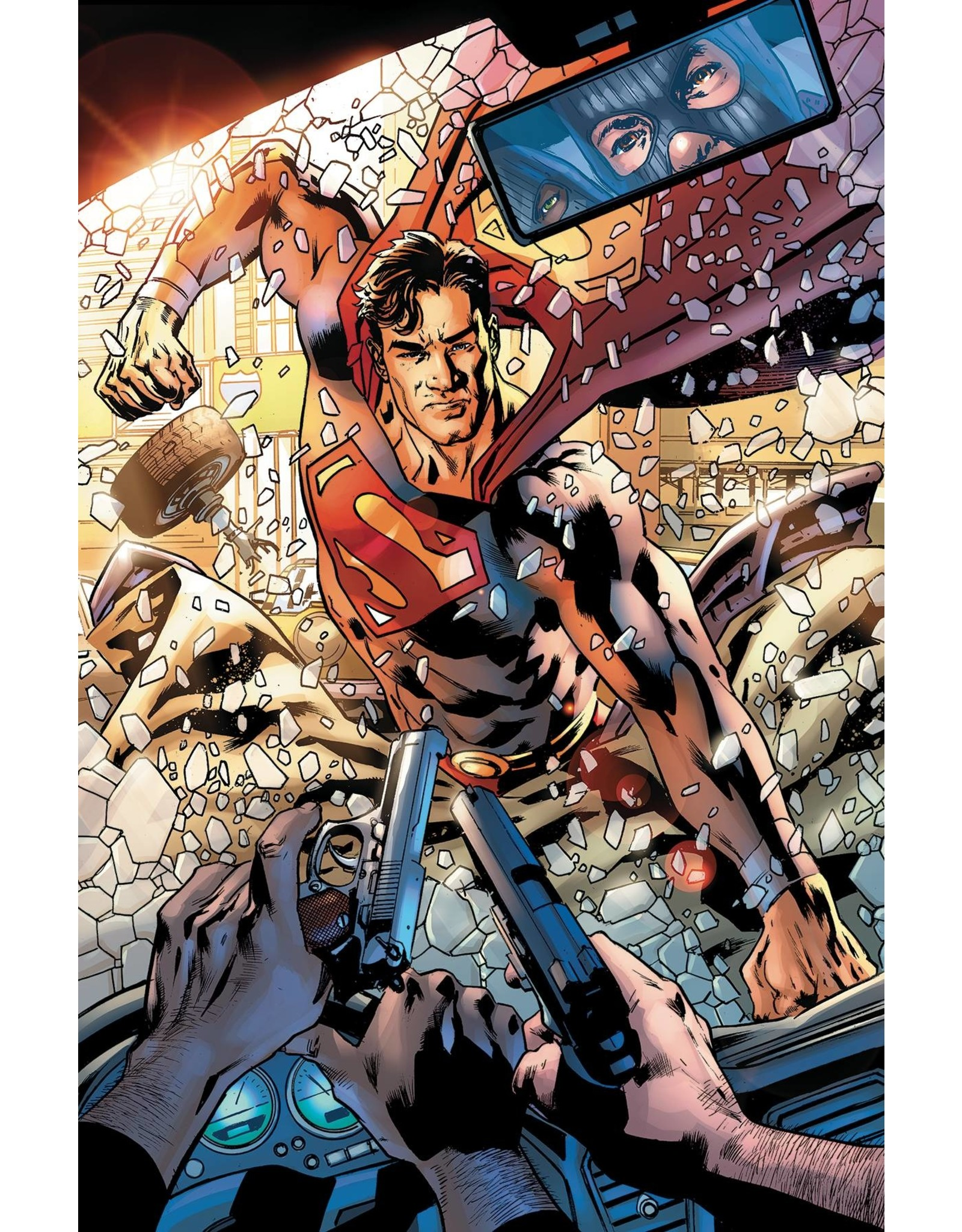 DC COMICS SUPERMAN #25 CVR B BRYAN HITCH VAR