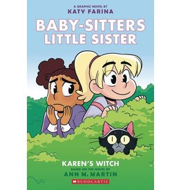 GRAPHIX BABY SITTERS LITTLE SISTER GN VOL 01 KARENS WITCH