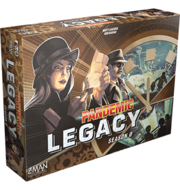 Z-MAN GAMES INC PANDEMIC LEGACY SEASON 0