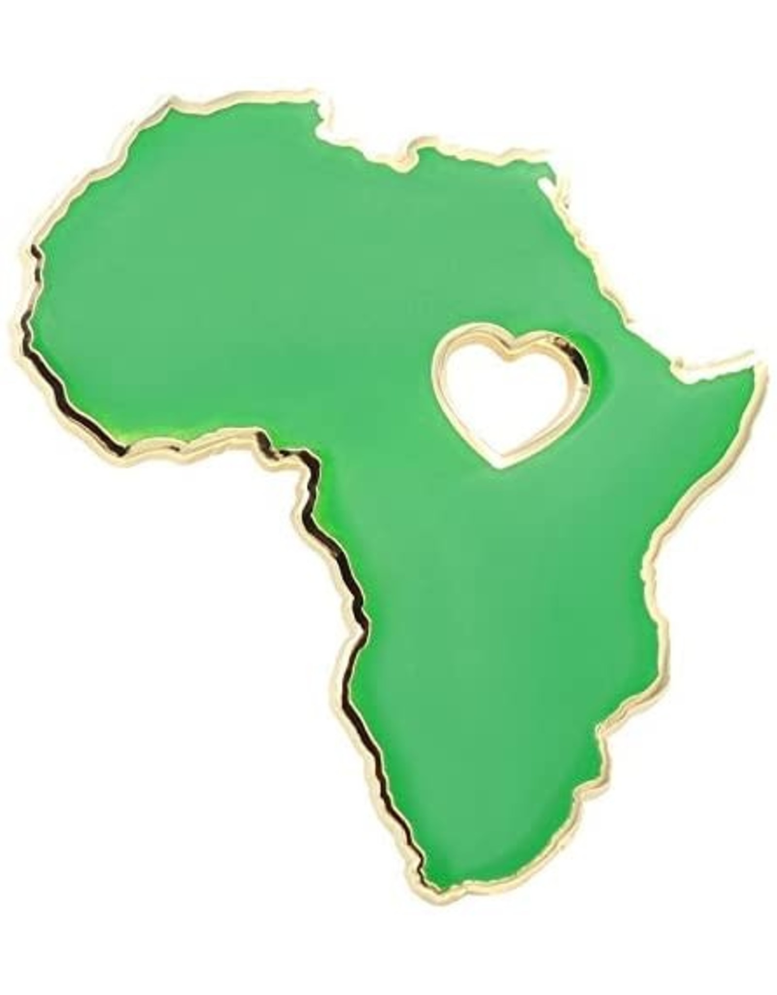 REAL SIC HEART OF AFRICA LAPEL PIN