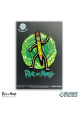 RICK AND MORTY PENCILVYSTER QUOTE PIN