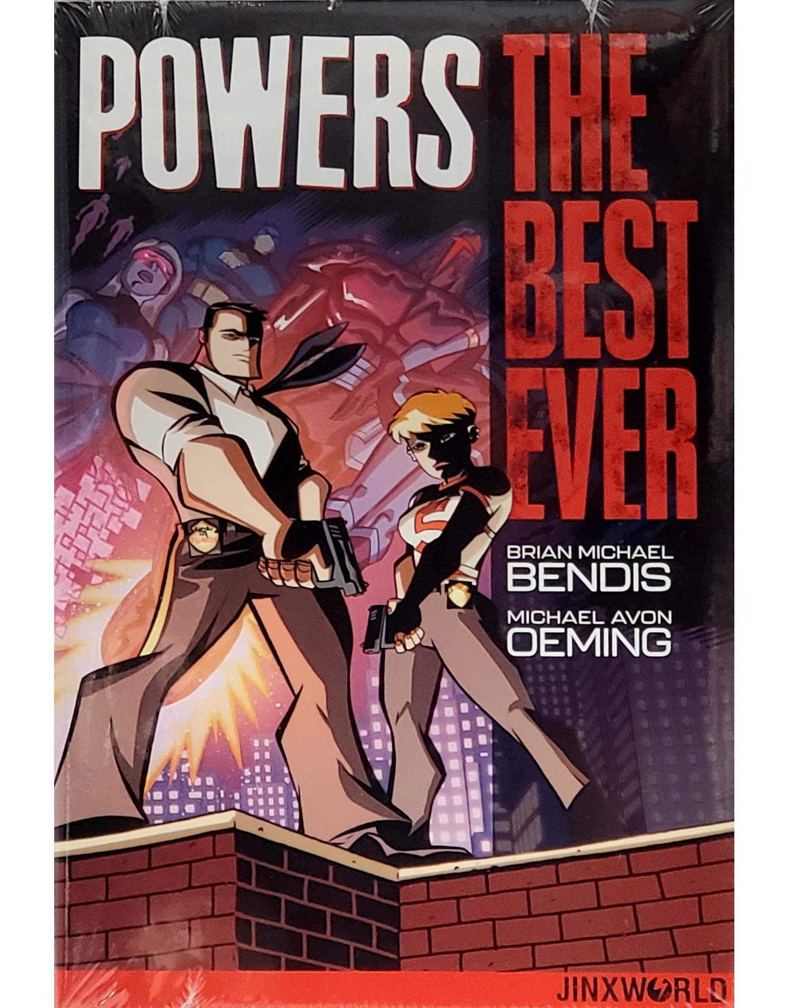 DC COMICS POWERS THE BEST EVER HC