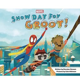 MARVEL PRESS SNOW DAY FOR GROOT HC